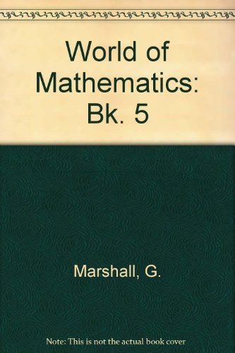 9780174312208: World of Mathematics: Bk. 5