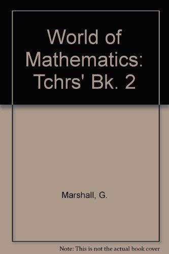 9780174312253: World of Mathematics: Tchrs' Bk. 2