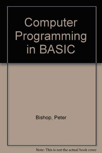 9780174312703: Computer Programming in BASIC