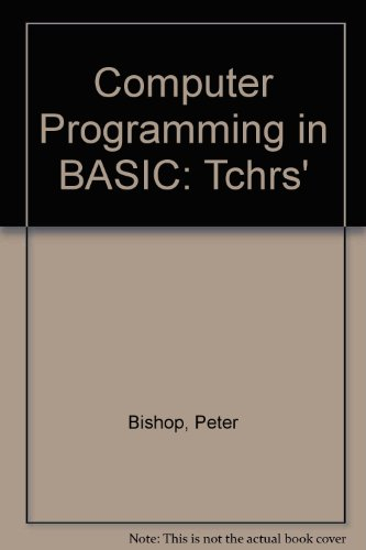 9780174312710: Computer Programming in BASIC: Tchrs'