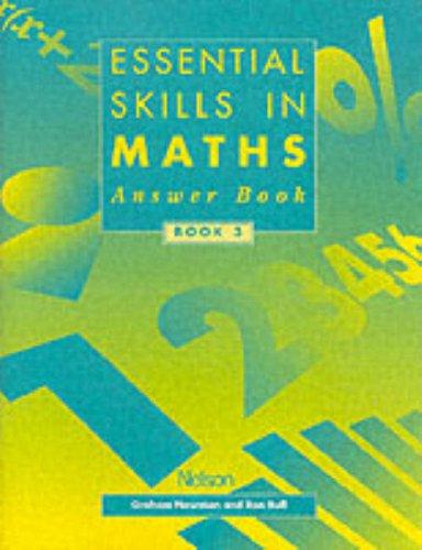 9780174314653: Essential Skills in Maths: Book 3 (Essential Skills) [Answer Book]