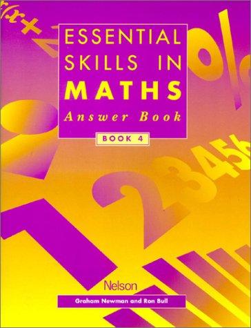 9780174314660: Essential Skills in Maths Book 4