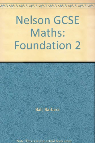 9780174314820: Nelson GCSE Maths - Foundation 2
