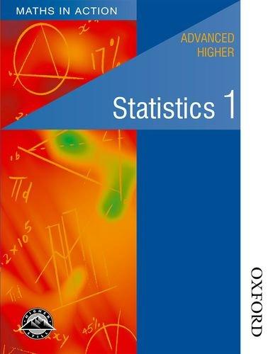 9780174315445: Maths in Action - Advanced Higher Statistics 1