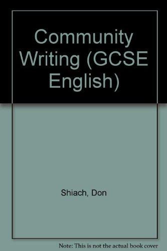 Community Writing.: Shiach, Don