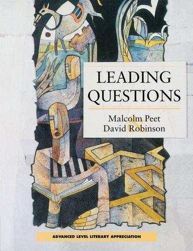 9780174323372: Leading Questions (Advanced Level Literary Appreciation)