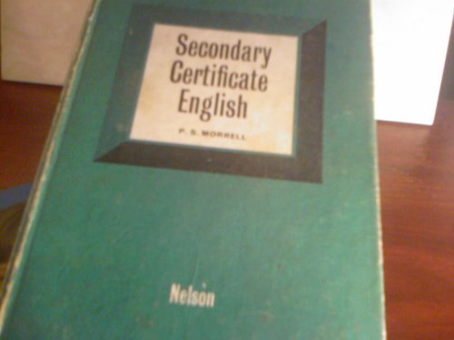 9780174330011: Secondary Certificate English (Language one to four)