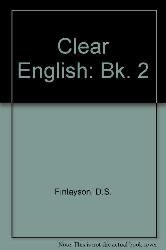 9780174333760: Clear English: Bk. 2