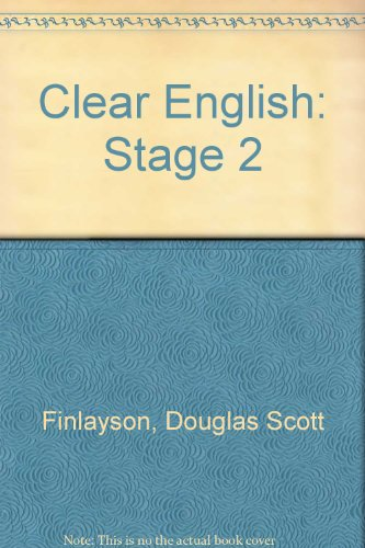 9780174333807: Clear English: Stage 2