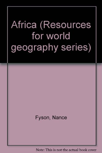 9780174340935: Africa (Resources for world geography series)