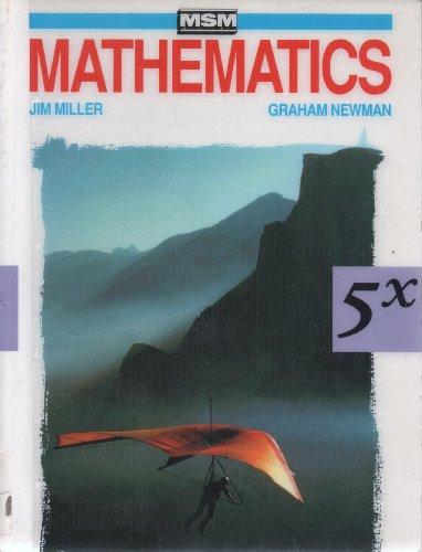 9780174384502: MSM Mathematics: Students' Book Bk. 5X (MSM assessment)