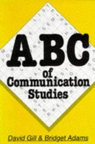 9780174385226: ABC of Communication Studies