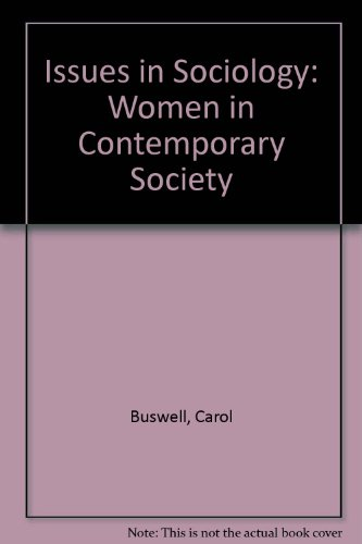 9780174386476: Issues in Sociology: Women in Contemporary Society