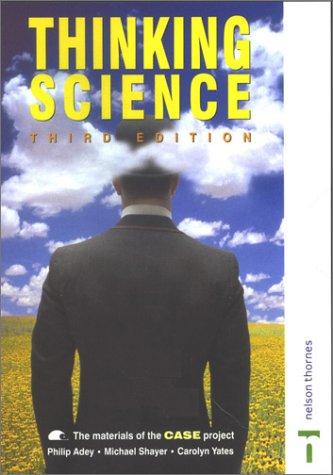 9780174387541: Thinking Science