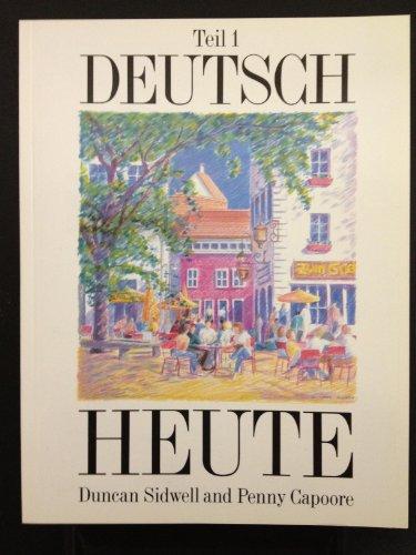 9780174390961: Deutsch Heute: Bk. 1
