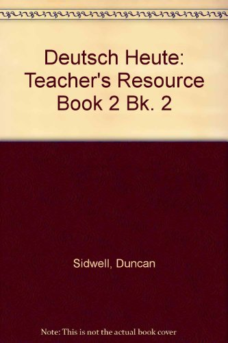9780174391074: Deutsch Heute: Teacher's Resource Book 2 Bk. 2