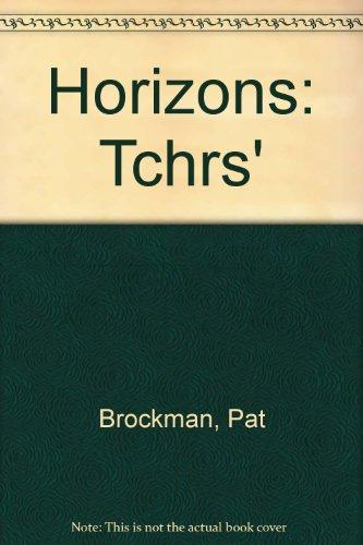 9780174391777: Horizons: Tchrs'