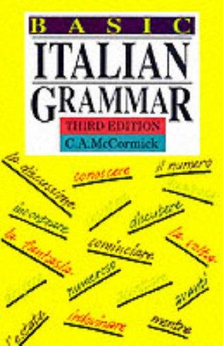 9780174392040: Basic Italian Grammar