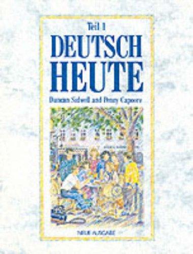 9780174392125: Deutsch Heute: Bk. 1 (Deutsch heute neue ausgabe)