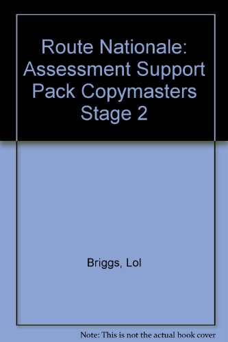 9780174395188: Route Nationale: Assessment Support Pack Copymasters Stage 2