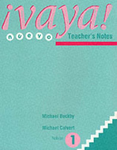9780174396680: Vaya! Nuevo: Teacher's notes Stage 1 (English and Spanish Edition)