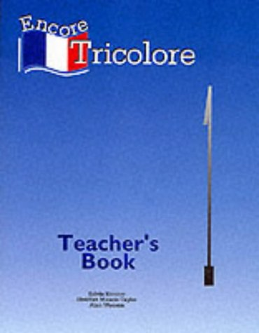 9780174396840: Encore Tricolore 1 - Teacher's Book: Teacher's Book Stage 1