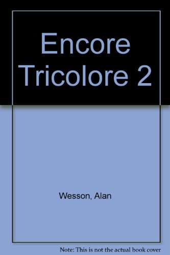 9780174397731: Encore Tricolore 2: Assessment Support Pack Copymasters