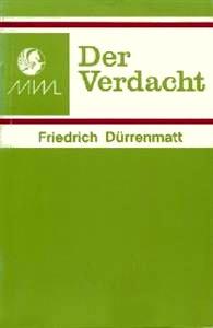 9780174398080: Verdacht, Der (German literary texts)