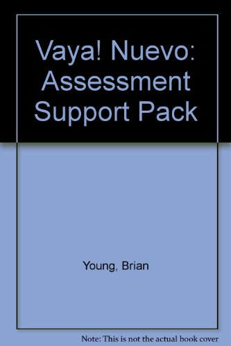 9780174398240: Vaya! Nuevo: Assessment Support Pack