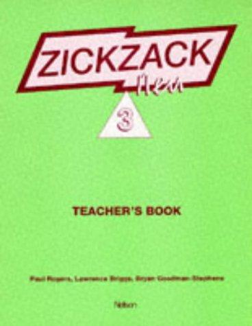 9780174398813: Zickzack Neu 3 New German Spelling - Teacher's Book: Teacher's Book Stage 3