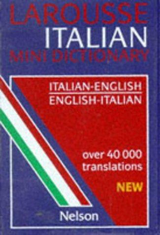 9780174401483: Larousse Italian Mini Directory (Italian and English Edition)