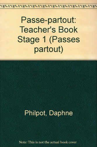 9780174401568: Passe Partout 1 Teacher's Book: Teacher's Book Stage 1 (Passes partout)