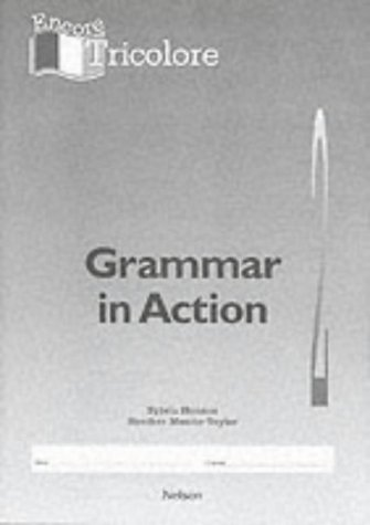 9780174401650: Encore Tricolore 2 - Grammar in Action 2 (X8): Grammar in Action Stage 2