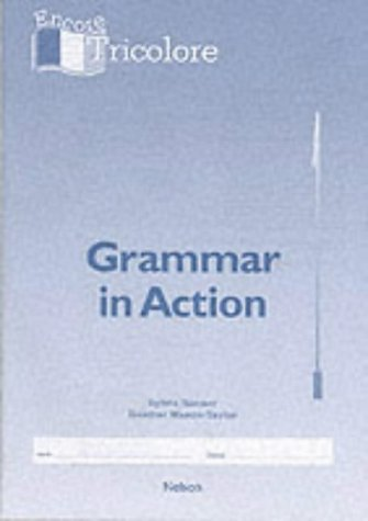 9780174401728: Encore Tricolore 1 - Grammar in Action: Grammar in Action Stage 1