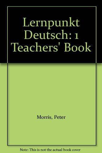 9780174402688: Lernpunkt Deutsch: 1 Teachers' Book