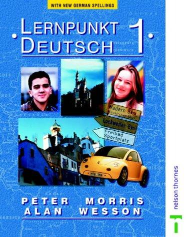 9780174402695: Lernpunkt Deutsch 1 - New German Spelling: Students' Book With New German Spelling Stage 1