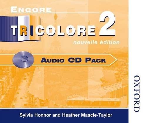 9780174403210: Encore Tricolore 2 Nouvelle Edition - Audio CD Pack (6): Audio CD Pack Stage 2