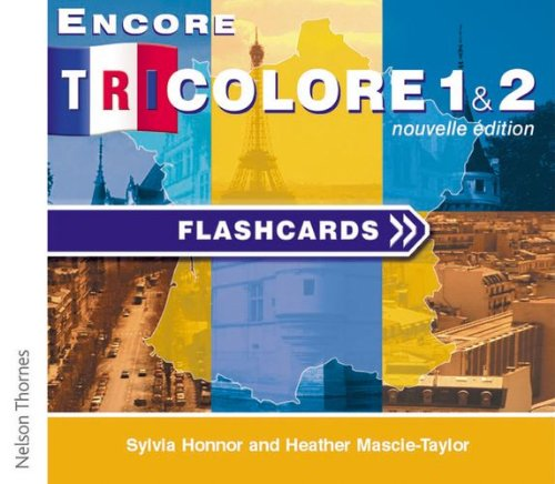 9780174403234: Encore Tricolore Nouvelle 1 Flashcards CD-ROM (stages 1 and 2)