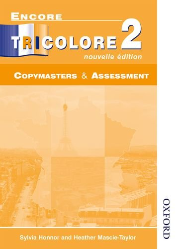 9780174403241: Encore Tricolore Nouvelle 2 Copymasters and Assessment