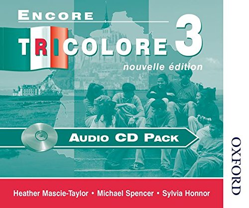 9780174403401: Encore Tricolore 3 Nouvelle Edition Audio CD Pack: Audio CD Pack Stage 3 (Encore Tricolore Nouvelle)