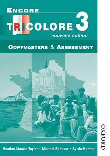 9780174403418: Encore Tricolore 3 Nouvelle Edition Evaluation Pack: Encore Tricolore 3 Nouvelle Edition - Copymasters and Assessment: Copymasters and Assessment Stage 3