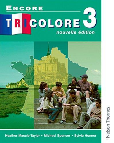 9780174403432: Encore Tricolore Nouvelle 3 Student Book