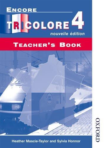 9780174403456: Encore Tricolore 4 Nouvelle Edition Evaluation Pack: Encore Tricolore 4 Nouvelle Edition - Teachers' Book: Teacher's Book Stage 4