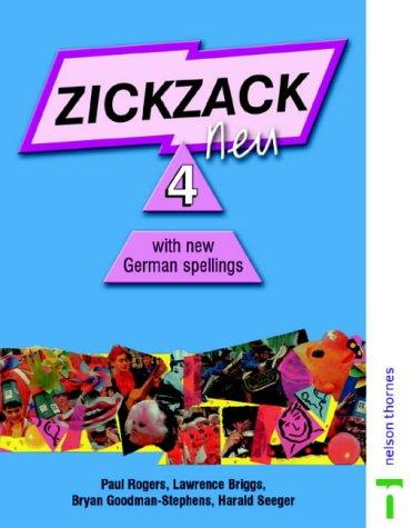 9780174403555: Zickzack neu 4 New German Spelling: Stage 4