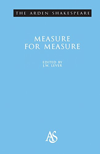 9780174435792: Arden Shakespeare: Measure For Measure: (2nd Series) (Arden Shakespeare Second)