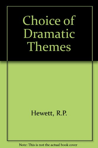 9780174441113: Choice of Dramatic Themes