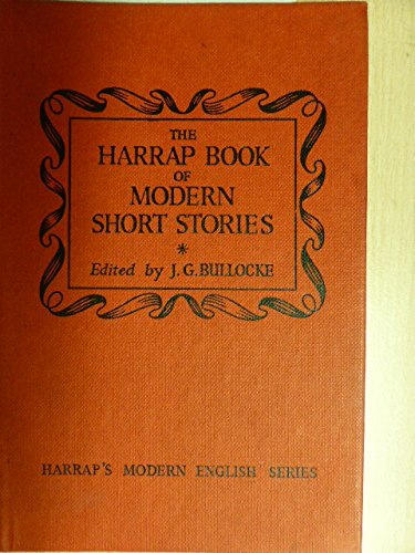 9780174441199: The Harrap Book Of Modern Short Stories