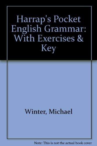 9780174441892: Harrap's Pocket English Grammar: With Exercises & Key
