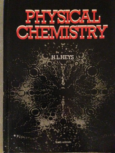 9780174442981: Physical Chemistry