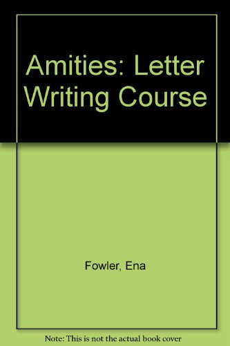 9780174443360: Amities: Letter Writing Course